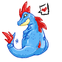 Feraligatr by The-NK