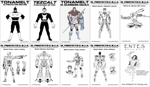 AC All Characters by alexcruz