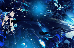 Black Rock Shooter wallpaper by Lunasith