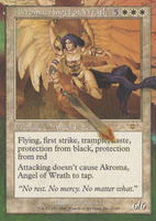 Altered Akroma, Angel of Wrath by Rolzor