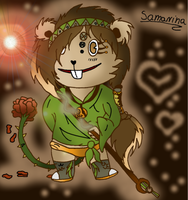 My new OC- Samarina by Blazeja