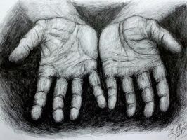Hands working by katris-felis