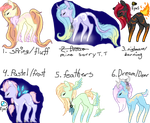 Offer to adopt mini adopts (OPEN) by ErisuAdopts