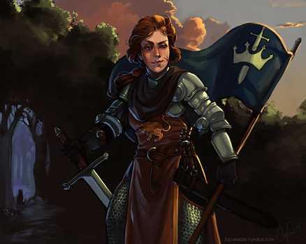 Lioness Rampant by CPatten