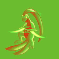Grovyle - Palette Challenge by Rabid-Fangirl212