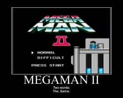 Motivation - Megaman II by Songue