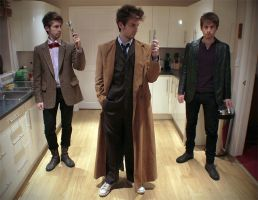 The Three Doctors by ANTHONYGREY
