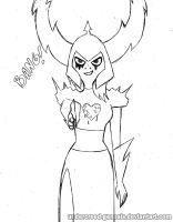WOY: Lord Dominator doodle 2 by undercreed-genesis