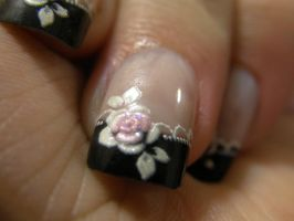 Gothic Lolita Nails by AnnaFoxe