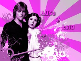 Luke_and_Leia by LaraStrong