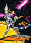 SILVER SURFER vs BLACK ADAM ed by gagex07