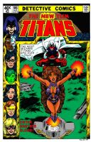 Teen Titans cover by dalgoda7 by Gwhitmore