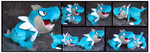 Shiny Tyrunt Custom Plushes by Nazegoreng