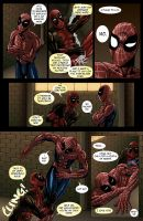 Spideypool Comic 'Never Say Never' Page 5 by jijikero