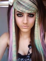 Colorful Scene Hair 3 by Misskylakandy