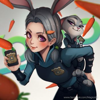Judy Hopps by magion02