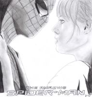 The Amazing Spider-man and Gwen Stacy by ToviT489
