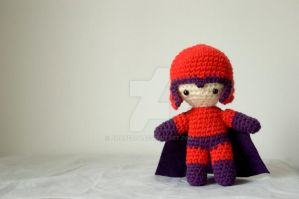 magneto amigurumi by pirateluv