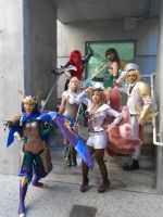 League of Legends Cosplayers at Fanime 2014 by TinyMageIvriniel