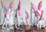 Sylveon First Group Picture by Lemonpez
