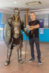 some photo of dwarf with a friend by Quellart