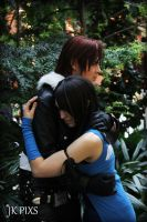 Squall and Rinoa by carpathianwarrior