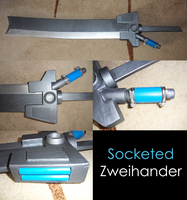 NeoSteam - Zweihander Sword by SnowspireFox