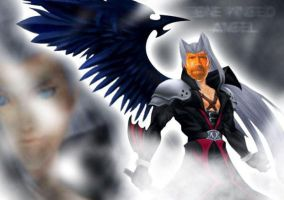 Chuck the One Winged Angel by Sir-Wolfgang-Jones