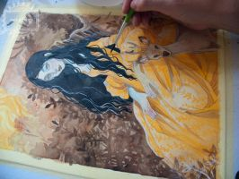 The Princess in Yellow - Work in progress by nati