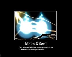 Maka x Soul Demotivational by 4rataz5