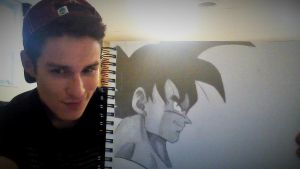My giant Turles drawing. by superheroarts
