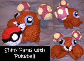 Paras and Pokeball by JwalsShop