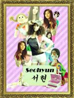 SNSD Collage : Seohyun by GraPHriX