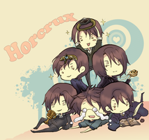HP .:6 lovely horcruxs:. by GYRHS
