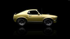 Ford Mustang Mach 1 Mini '70 by HAYW1R3