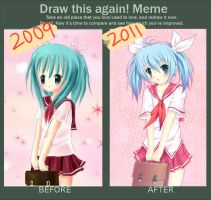 improvement meme by mewe321