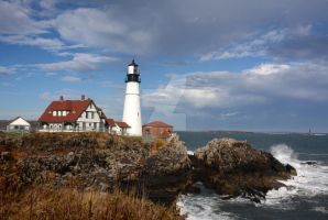 Portland Head Light by maxlake2
