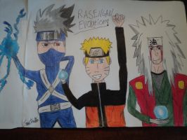 Rasengan Evolution by TheMoonwalkers