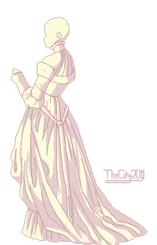Historical Dress Base 2 by thecity2011
