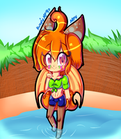 Contest -Naoko Chaan's cute summer oc (1/2 by karsisMF97