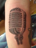 old schOol micrOphOne by MrEmO