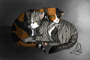Heather and Briska- A commission for Mikaley by Danny-Senpai