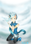 Entry for Brave Frontier RPG's contest. Nekaisu by Silversoulbarian19