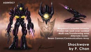 Transformers movie - Shockwave by agentdc7