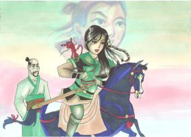 disney's mulan by yoolin