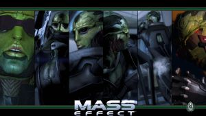 Mass Effect Wallpaper - Thane Krios by Ainyan42
