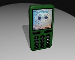 Mobile Phone Candybar by ToaTs3D