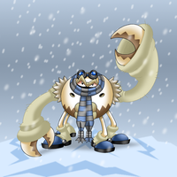 The Abominable Snowcrab by professorfandango