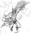 Batman sketch by scabrouspencil
