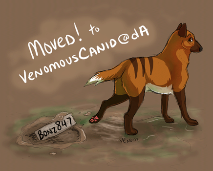 MOVED to VenomousCanid by Bonz847